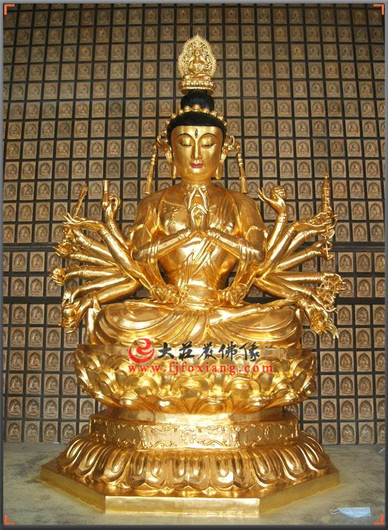 准提观音-准提菩萨像