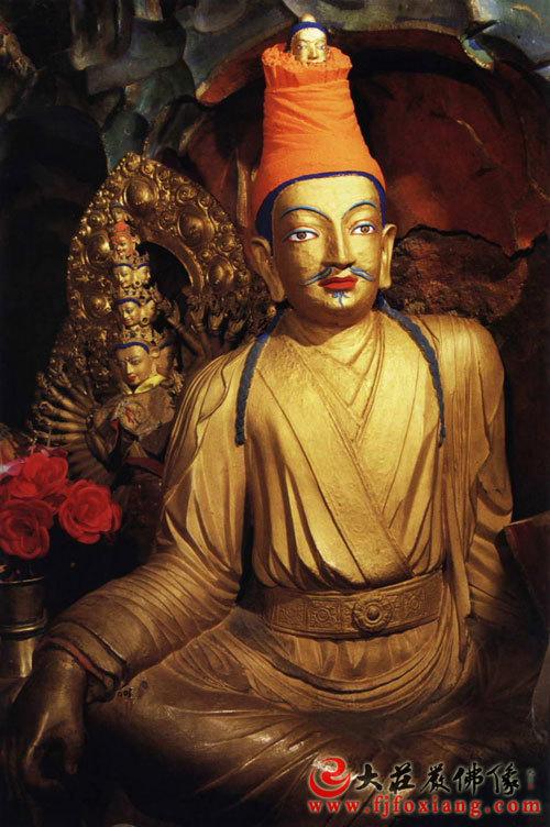 松赞干布(铜佛像)