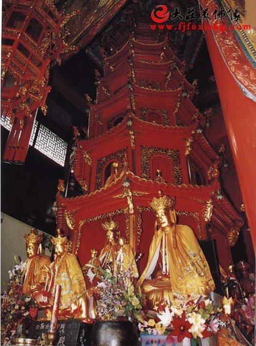 九华山-肉身塔