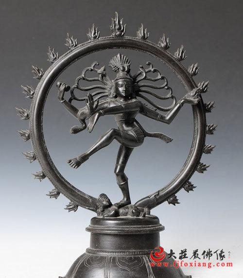 湿婆铜雕神像(正面)