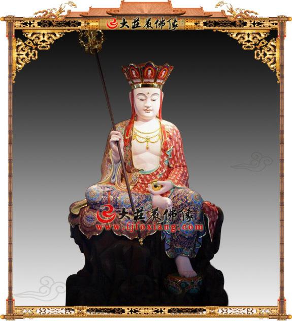 地藏王菩萨的形象