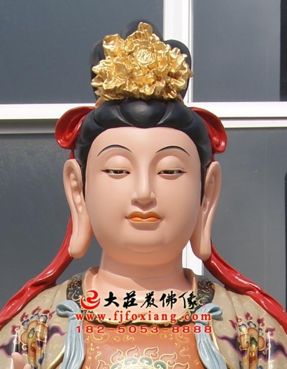 二十诸天之日宫天子塑像