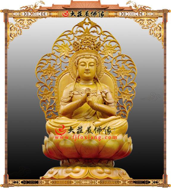 毗卢遮那佛,木雕佛像