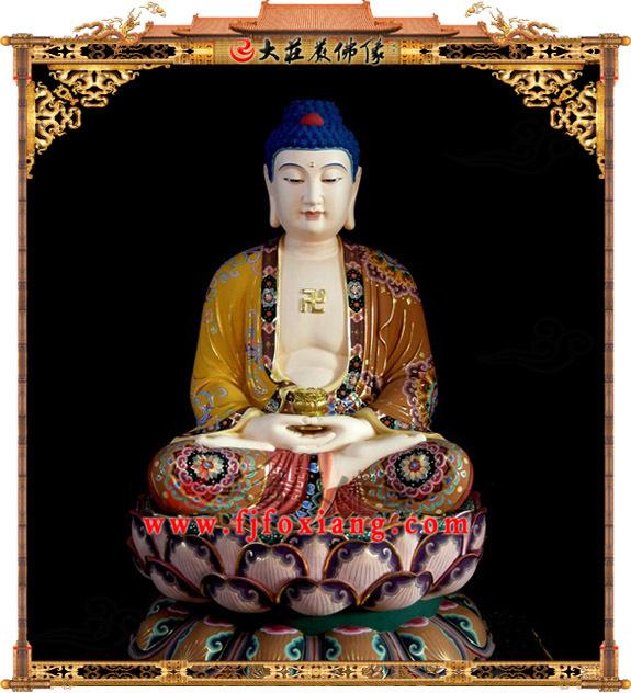 铜雕释迦佛