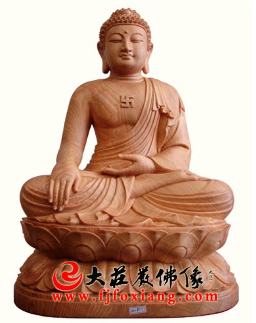 阿弥陀佛 木雕