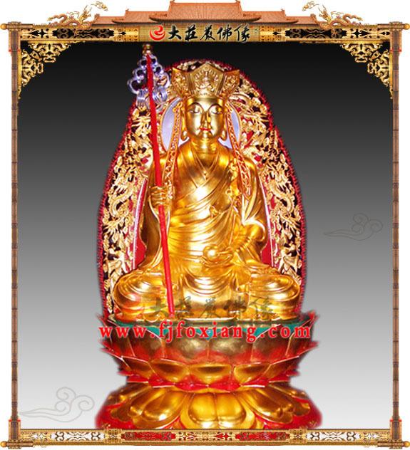 地藏王菩萨贴金
