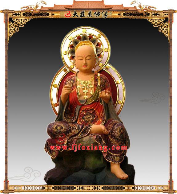 地藏菩萨半迦像