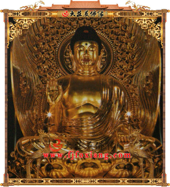 释迦堂-贴金释迦牟尼