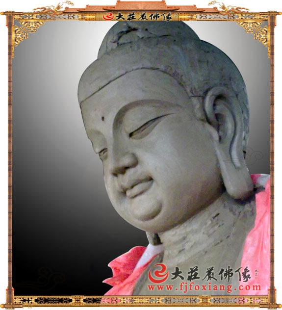 释迦佛泥塑佛像