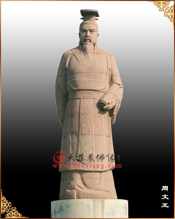 周文王像,周侯,周季历