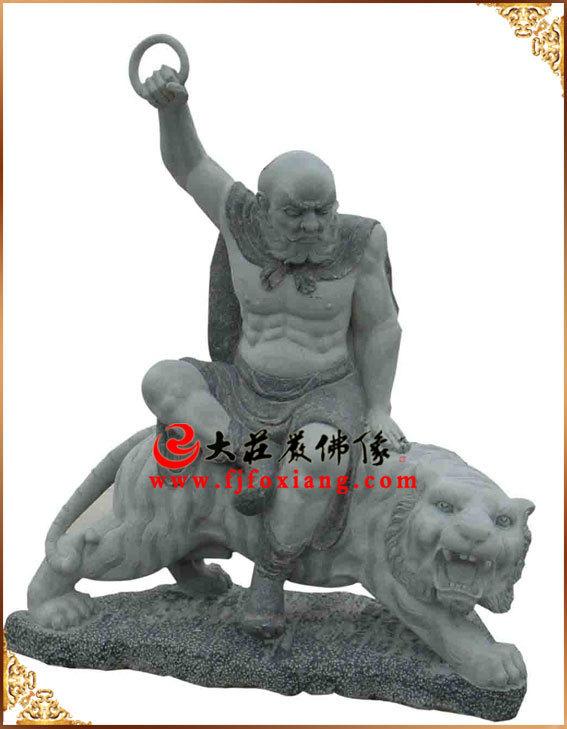 石雕十八罗汉之伏虎罗汉