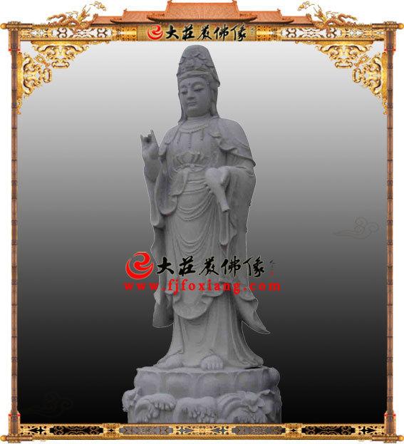 石雕观音菩萨,佛像雕刻