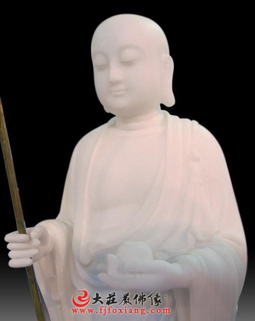 地藏王菩萨,玉雕佛像