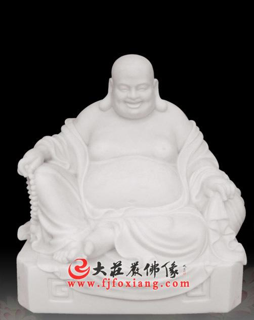 弥勒佛,玉雕佛像.
