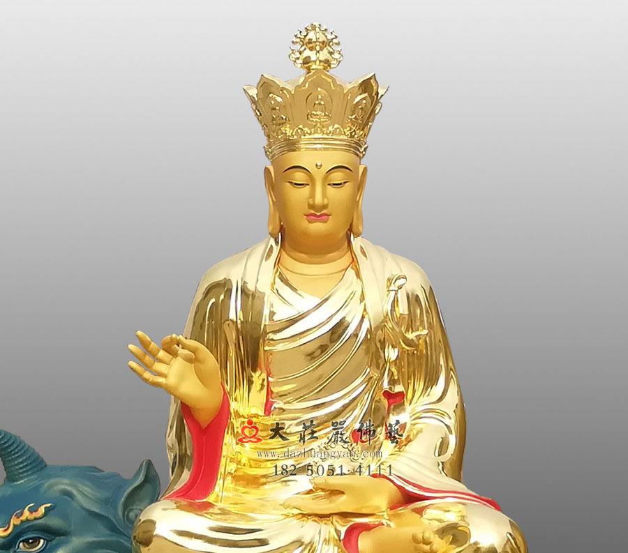 地藏菩萨正面近照