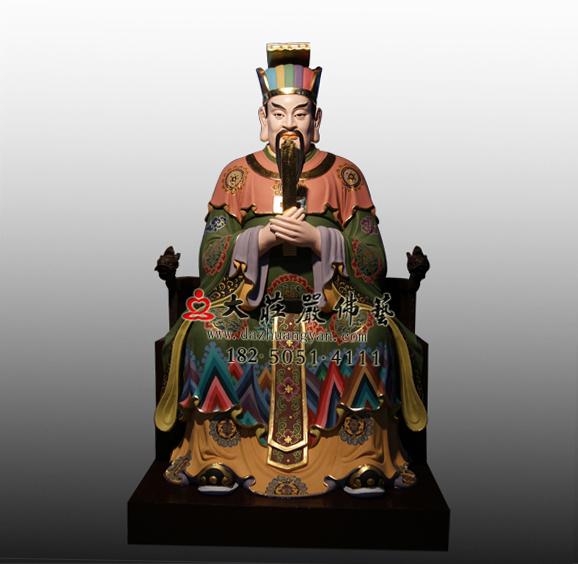 铜雕十殿阎王之八殿都市王塑像
