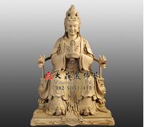 骊山老母铜雕塑像