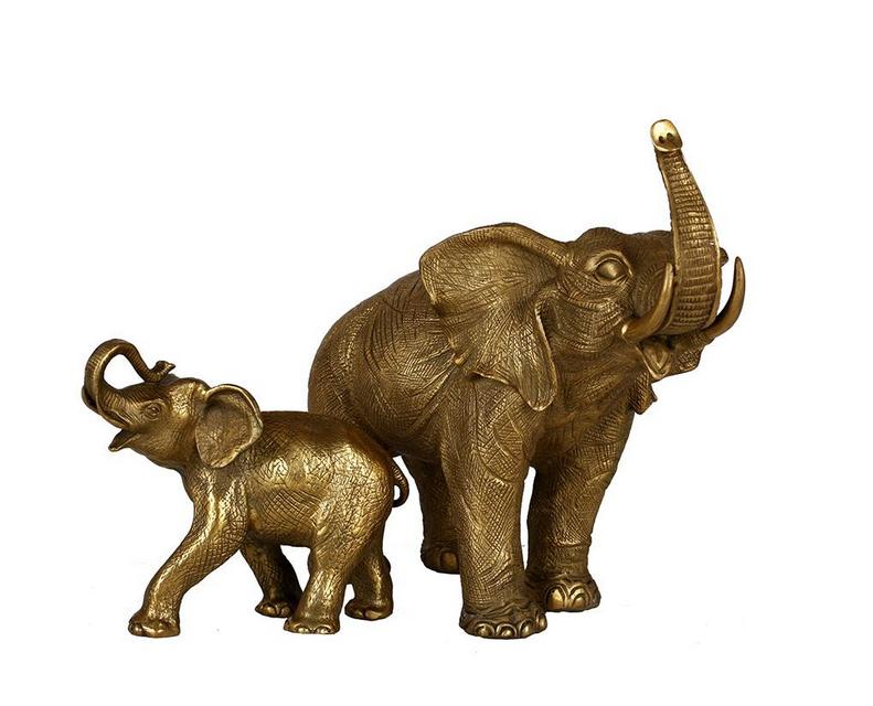 如何选购到称心的铜雕大象