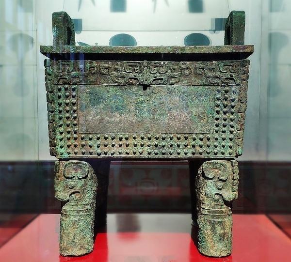 安阳古物保存会藏有的青铜器与发现地