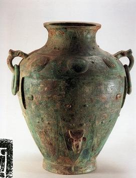 青铜雕刻文物