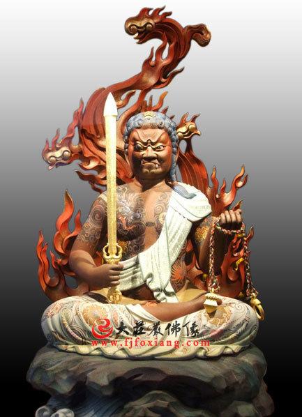 不动明王是谁的守护神,有什么寓意?