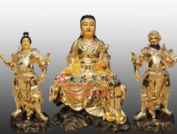 佛教伽藍菩薩早期的三位代表