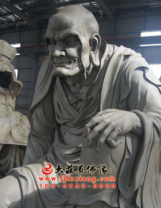 阿氏多尊者泥塑像