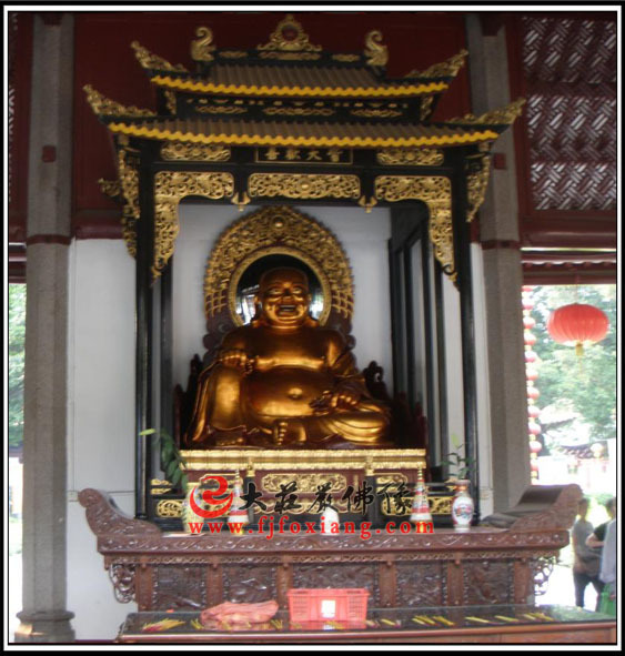 广州光孝寺弥勒佛像