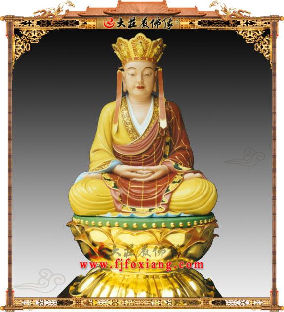 地藏王菩萨,禅定坐莲