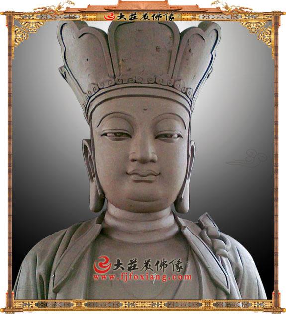 地藏王菩萨泥塑像