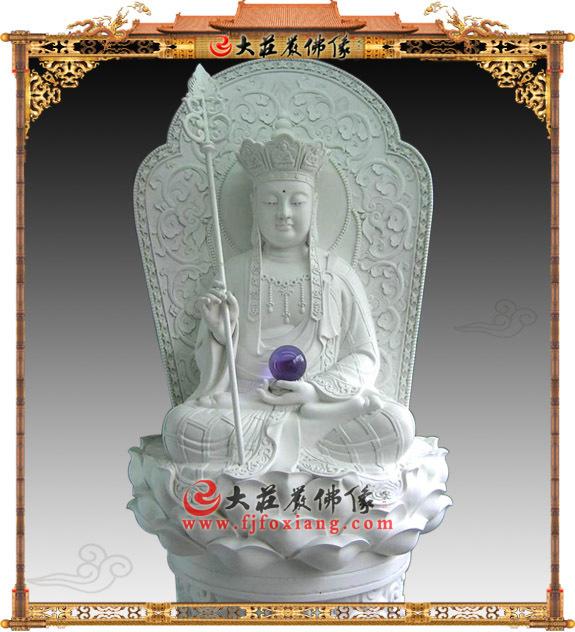 石雕地藏王菩萨