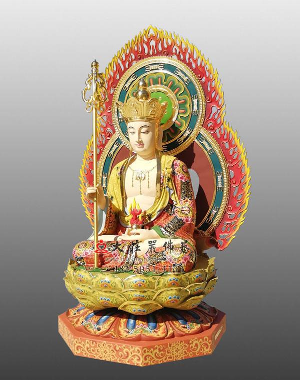 彩绘地藏王菩萨