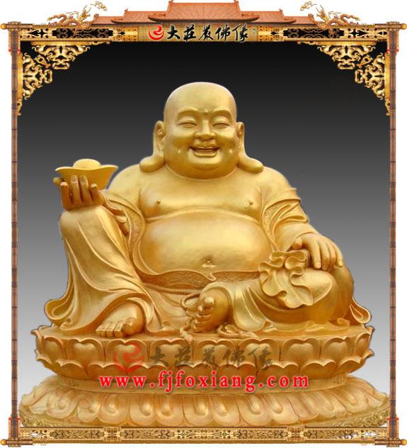 铜雕弥勒佛 佛教大肚弥勒 弥勒菩萨佛像雕塑