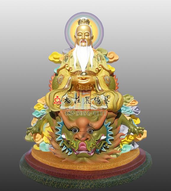 鸿钧老祖神像