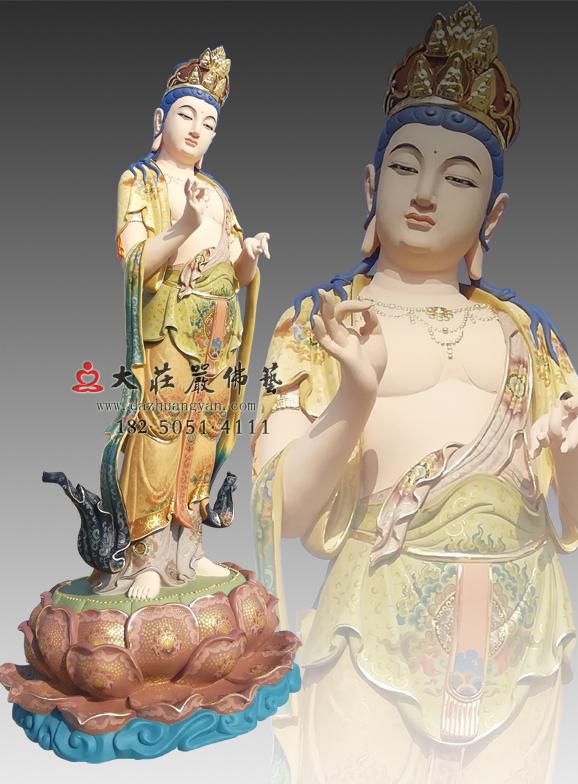 铜雕八大菩萨之金刚手菩萨