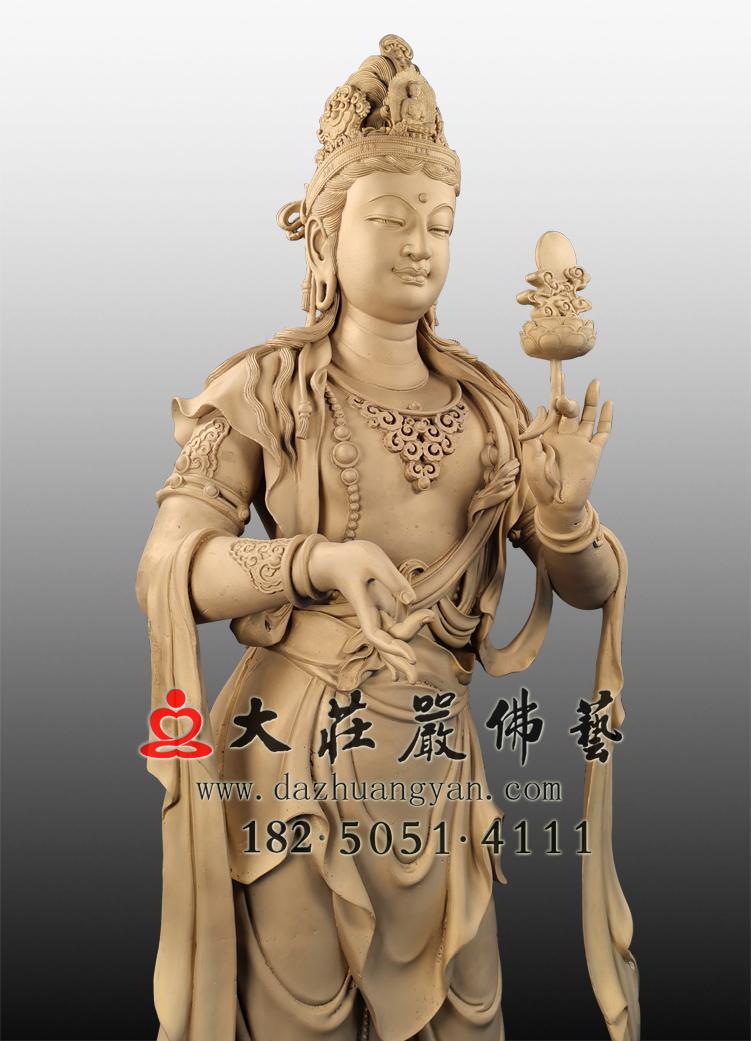 日光菩萨铜像