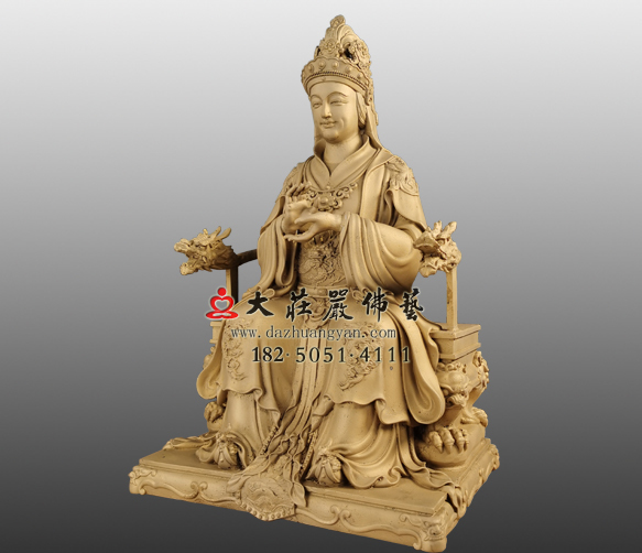 老太君铜雕塑像