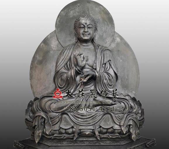 脱胎过去七佛之迦叶佛塑像