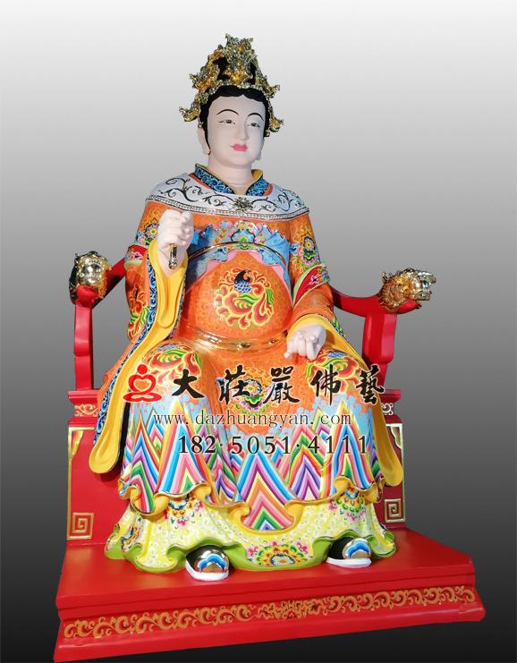 江夫人彩绘塑像