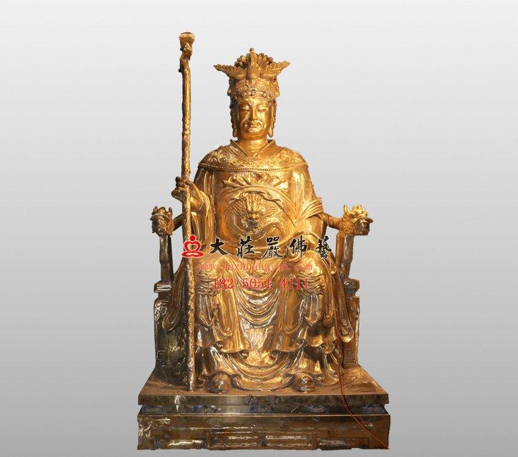 龙母 道教神像 铜雕神像