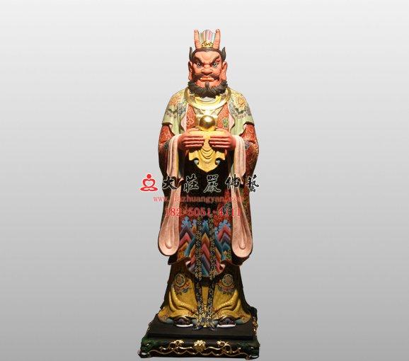 四海龙王神像 南海龙王 道教神像
