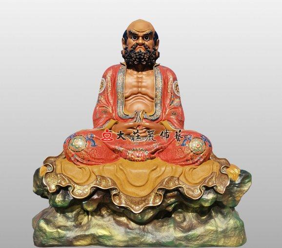 禅宗二十八祖达摩祖师雕塑 菩提达摩佛像定制