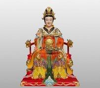九天玄女弟子神像 銅雕道教神像定制