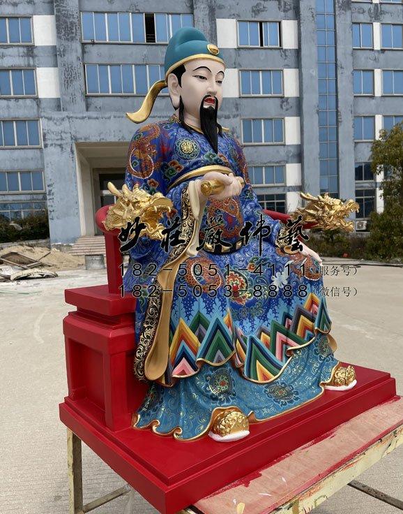 文昌帝君神像