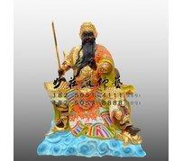 玄天上帝神像 銅雕真武大帝 北極真君神像 道教神像定制