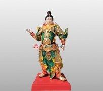 開閩王弟子神像 銅雕道教神像定制