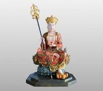地藏菩薩雕塑 地藏王菩薩 大愿地藏王菩薩佛像定制