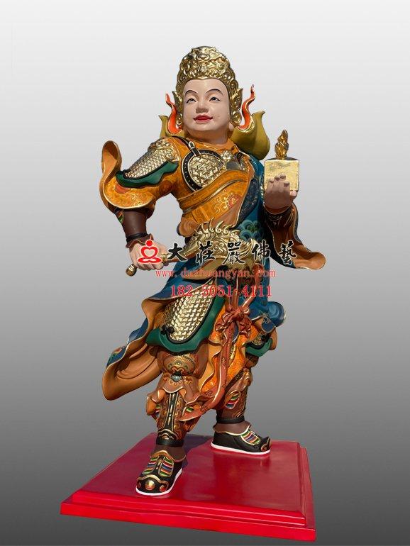 龙五爷侍者塑像 龙五爷侍者雕塑定制